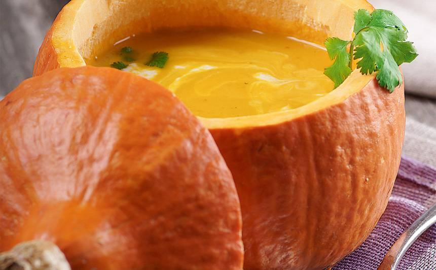 Ķirbja zupa ar ingveru recepte