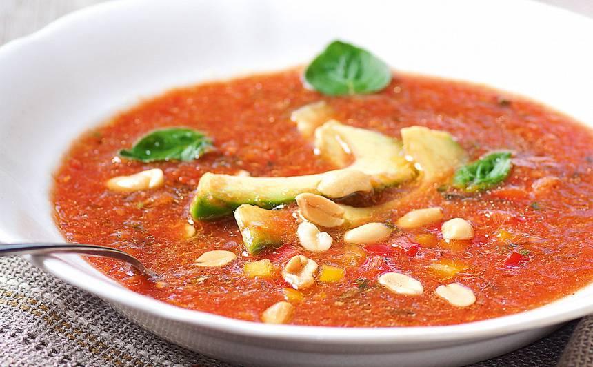 Aukstā tomātu zupa recepte