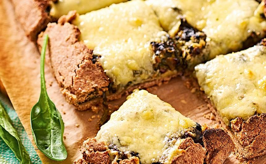 Skābeņu un spinātu pīrāgs recepte