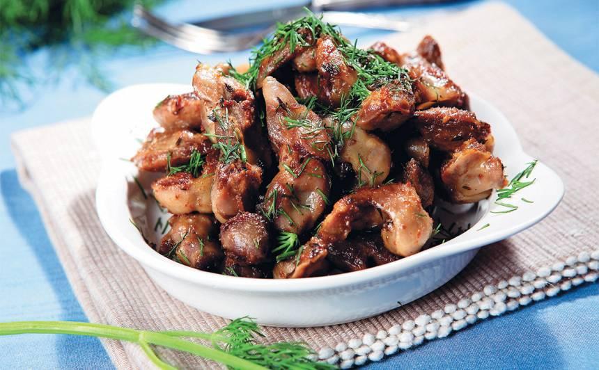 Ceptas vistu guziņas receptes