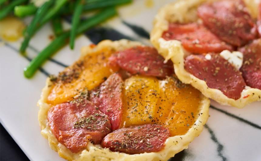 Ātrās tomātu tartaletes recepte