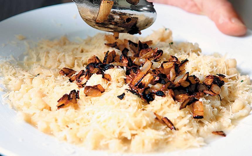 Klimpiņas bavāriešu gaumē recepte