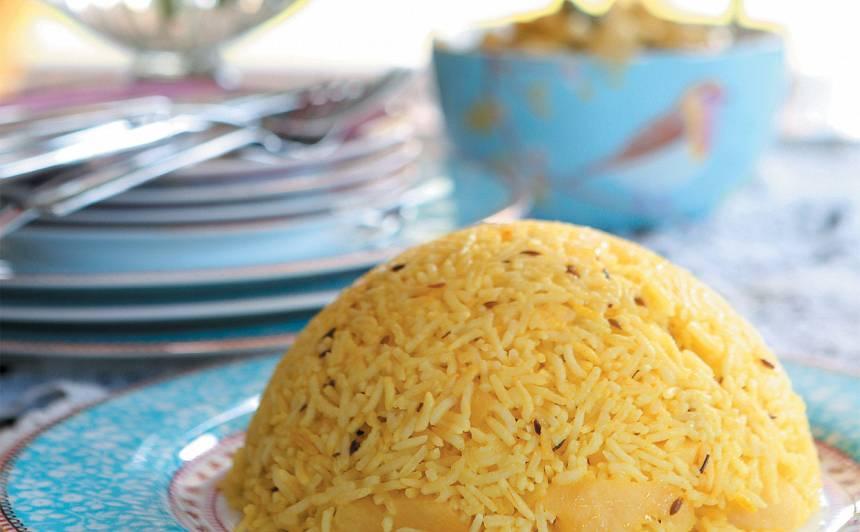 Dzeltenie rīsi