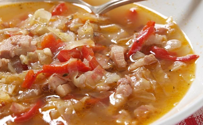 Šķiņķa zupa recepte