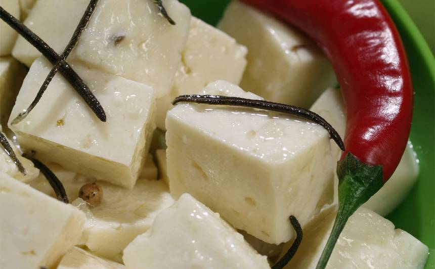 Marinēts siers recepte