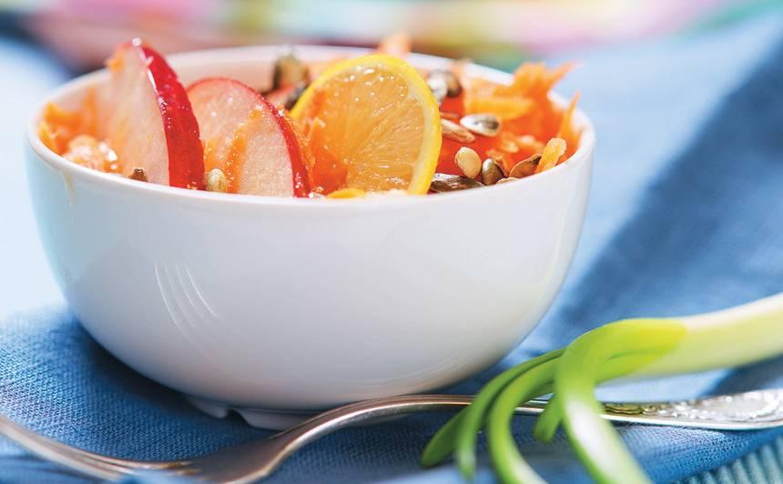 Burkānu salāti recepte