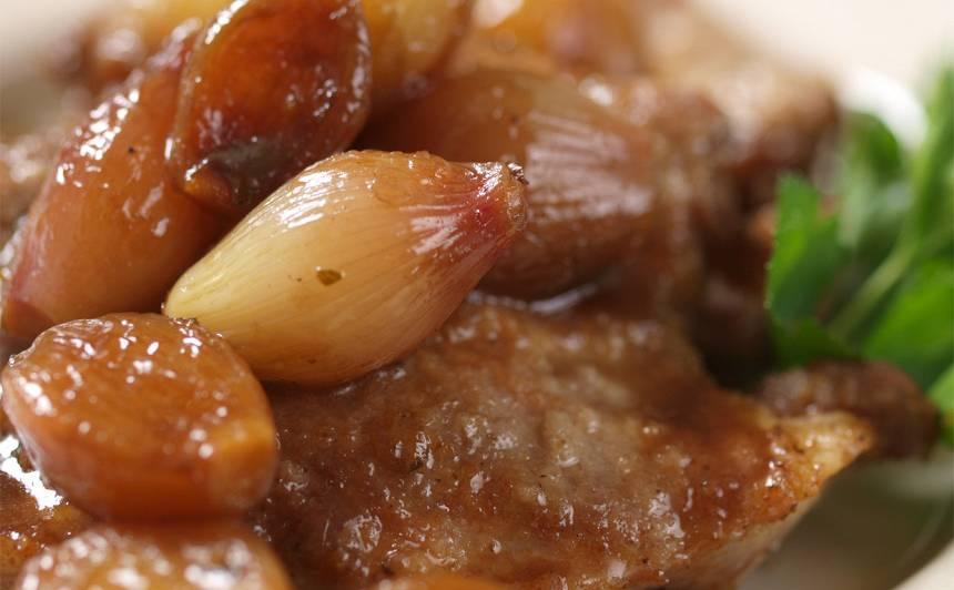 Sīpoli medū recepte