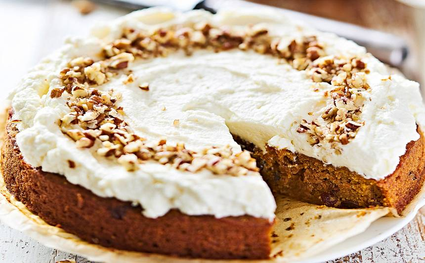 Burkānu kūka ar glazūru recepte