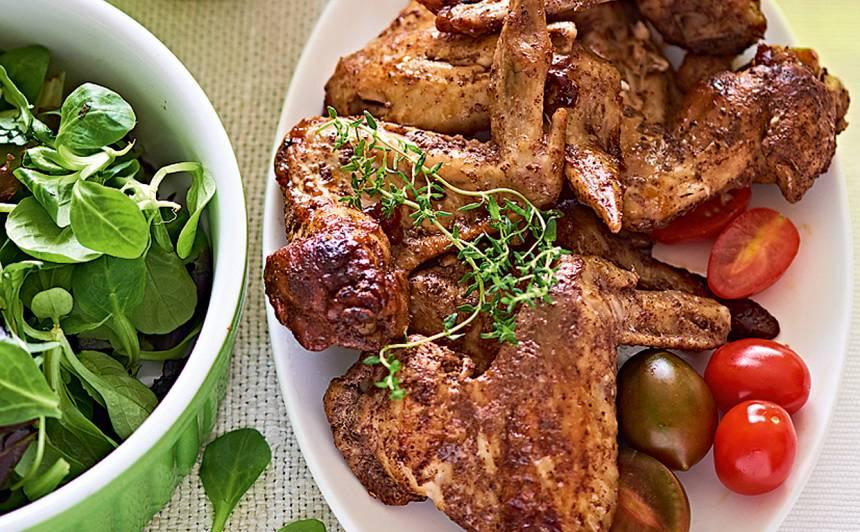 Marinēti vistu spārniņi recepte
