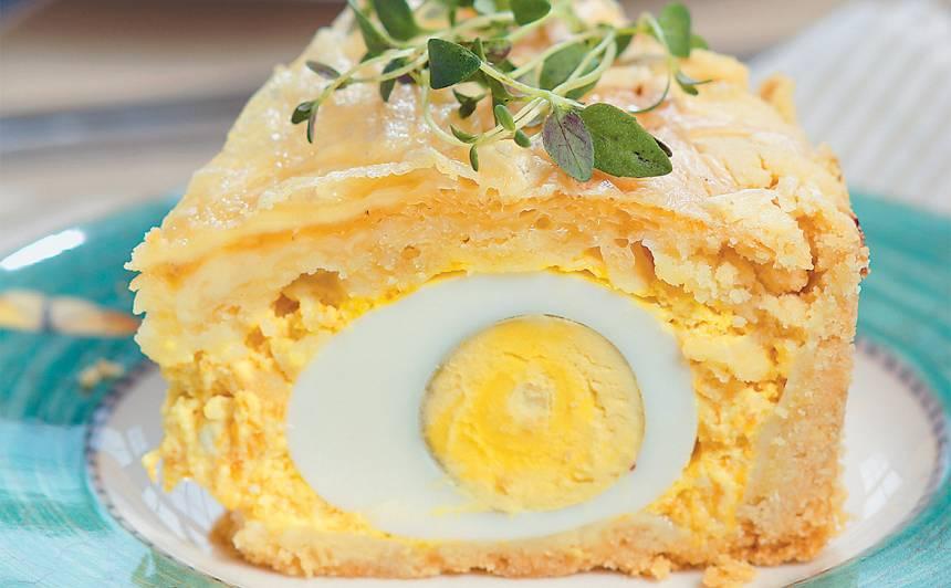 Sāļā burkānu kūka ar olām recepte