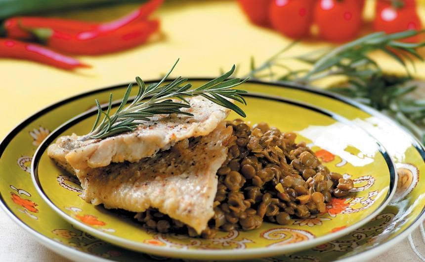 Cepta zivs lēcās recepte