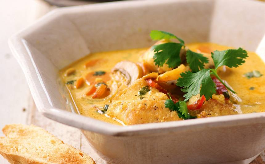 Zivju karijs receptes