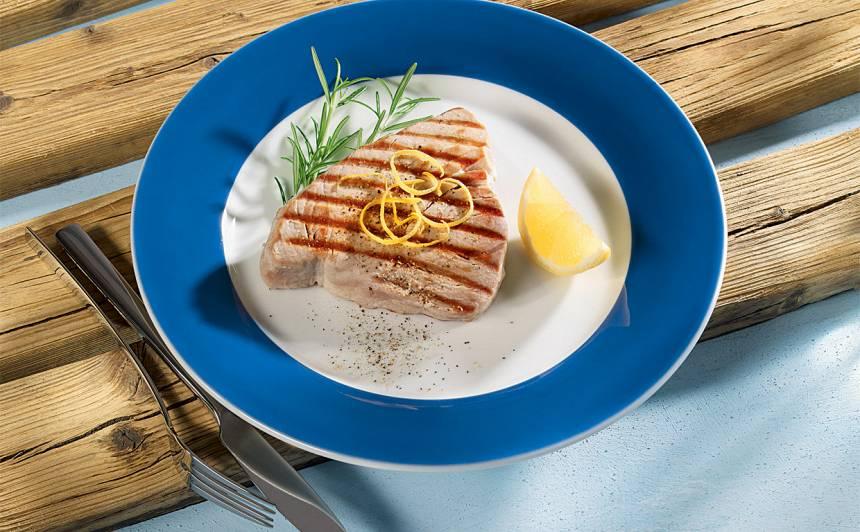 Tunča steiks recepte