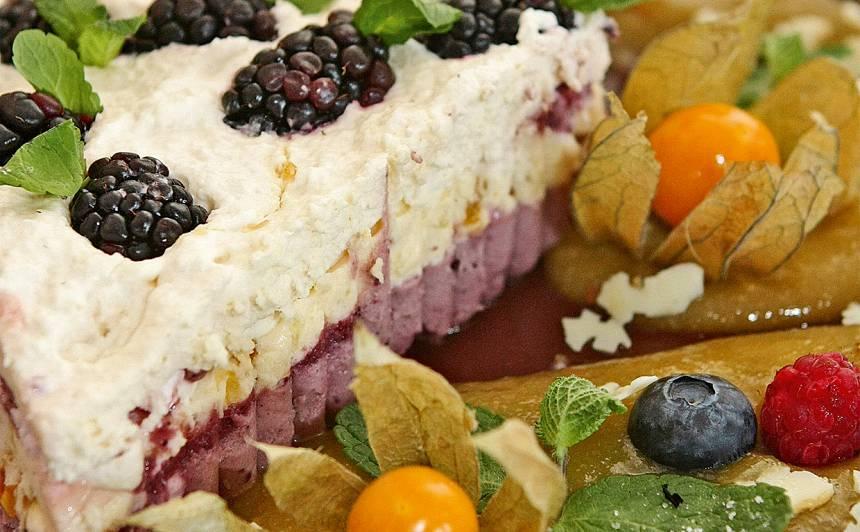 Kārtainais deserts recepte