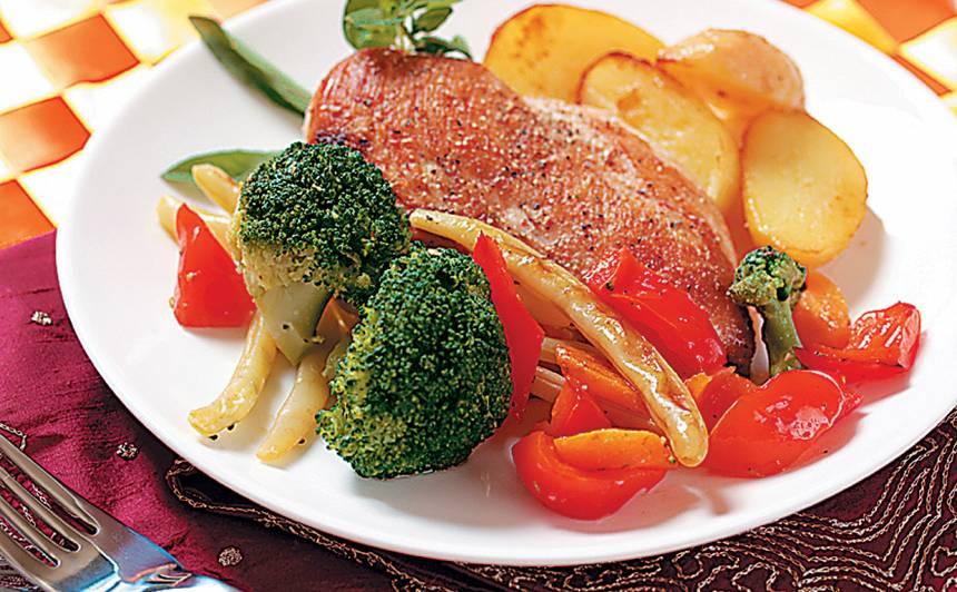 Vistas fileja ar brokoļiem receptes