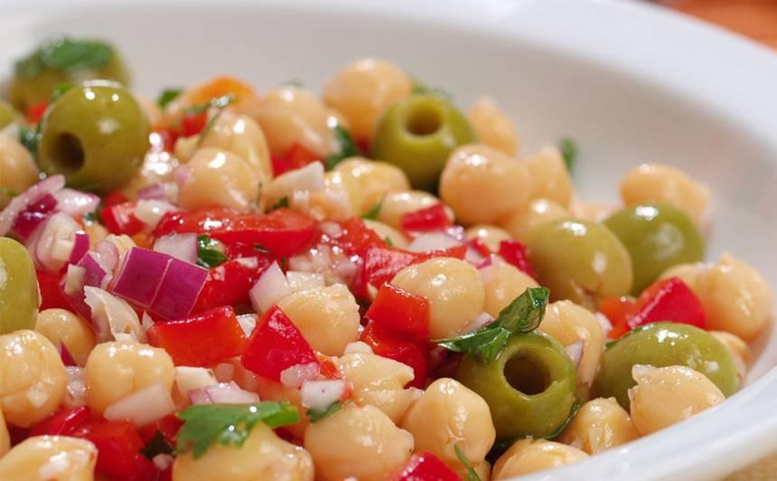 Turku zirņu un paprikas salāti recepte