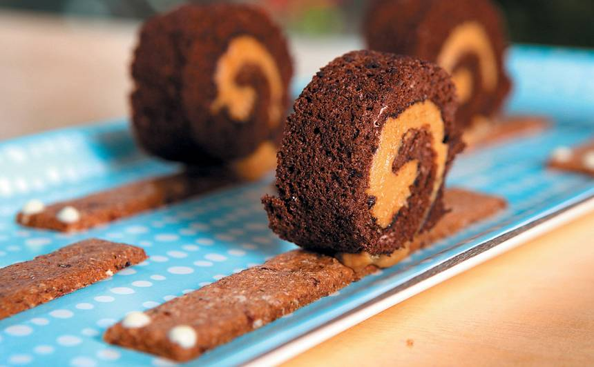 Šokolādes gliemezīši recepte