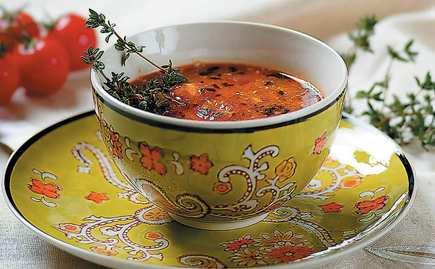 Stiprā lēcu zupa  ar dārzeņiem recepte