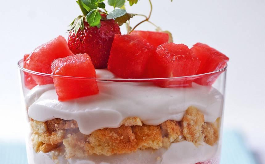 Arbūza deserts recepte