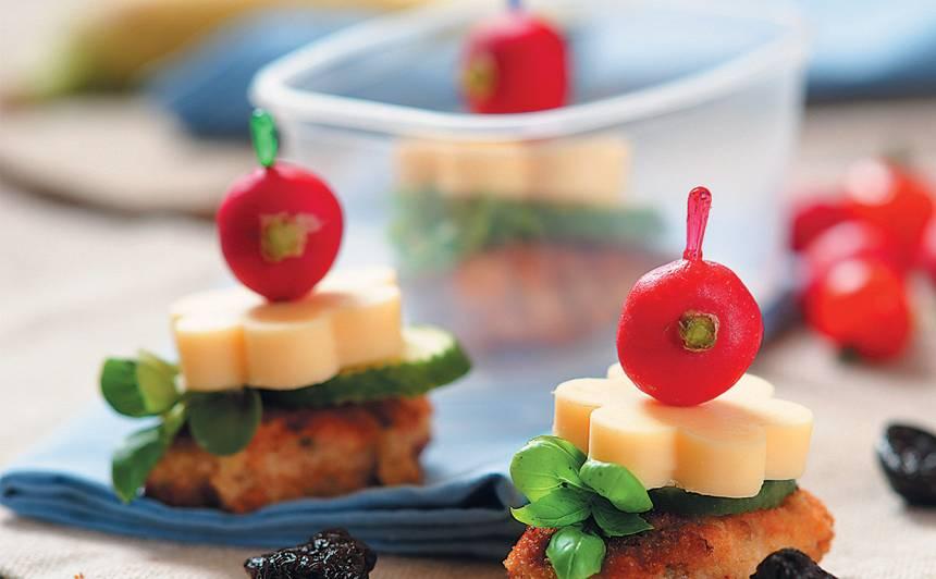 Vistas fileja ar sieru un dārzeņiem recepte