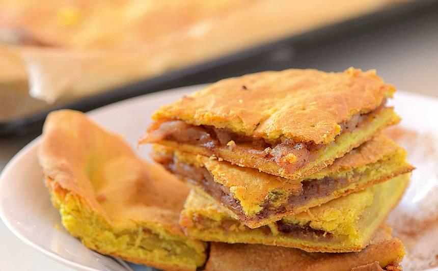 Ājurvēdiskais ābolu pīrāgs recepte
