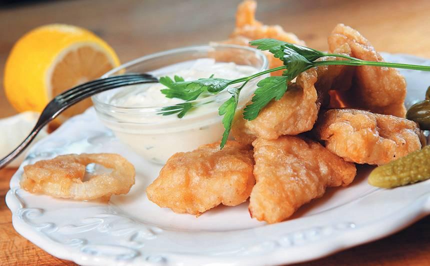 Zivs fileja alus mīklā recepte