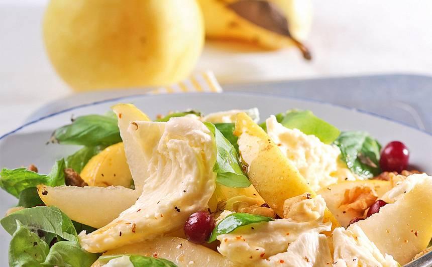 Salāti ar bumbieriem un mocarellu recepte