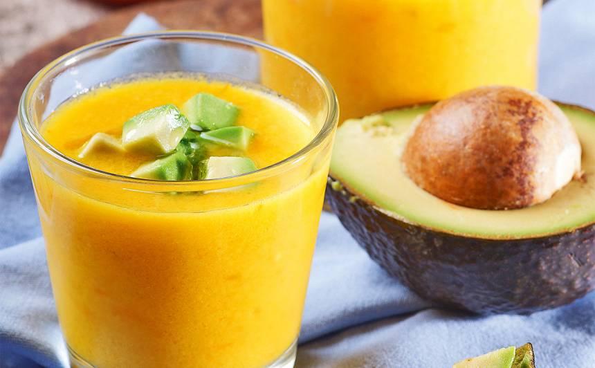 Dzelteno tomātu gaspačo recepte