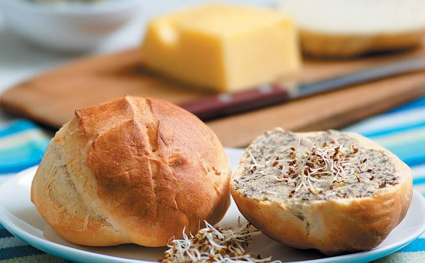 Siera un alus maizītes ar garšvielām recepte