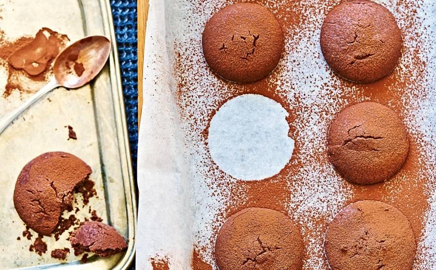 Pildīti šokolādes cepumi recepte
