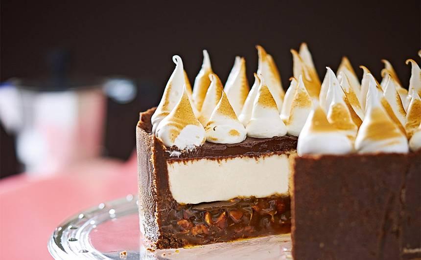 Šokolādes kūka ar karameli recepte