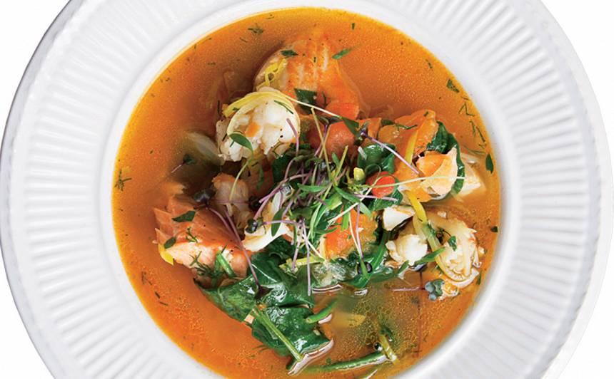 Šefpavāra zivju zupa recepte