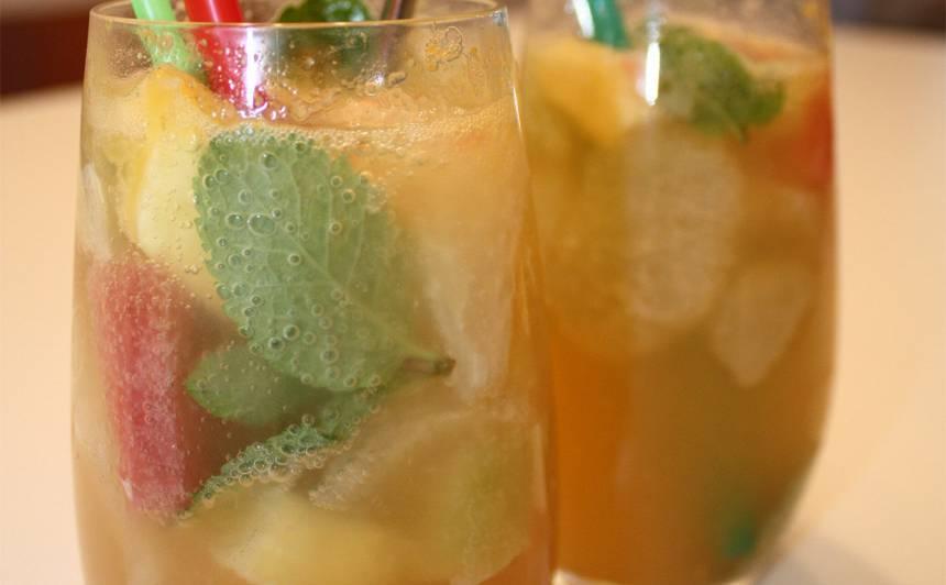 Citrusaugļu dzēriens recepte