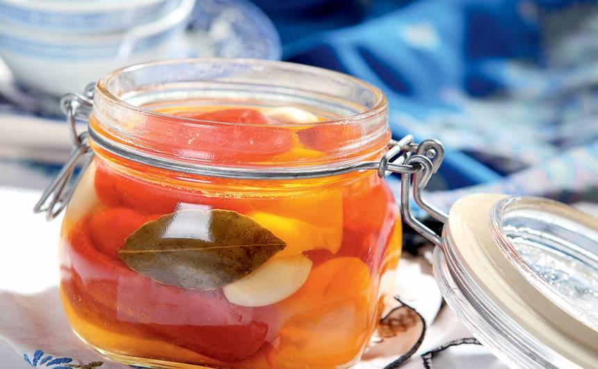 Paprika medus marinādē recepte