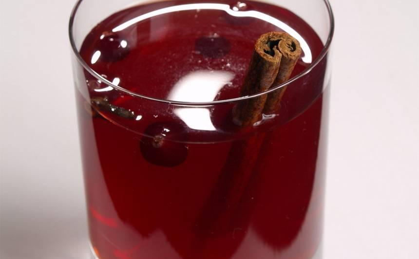 Dzērveņu dzēriens recepte