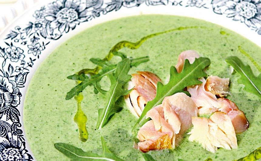 Rukolas zupa