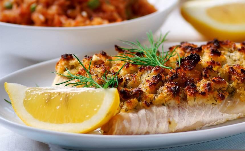 Zivs fileja ar maizes garoziņu