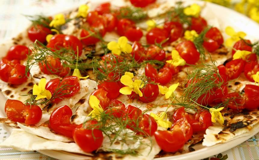 Gardās lavaša tomātmaizes recepte