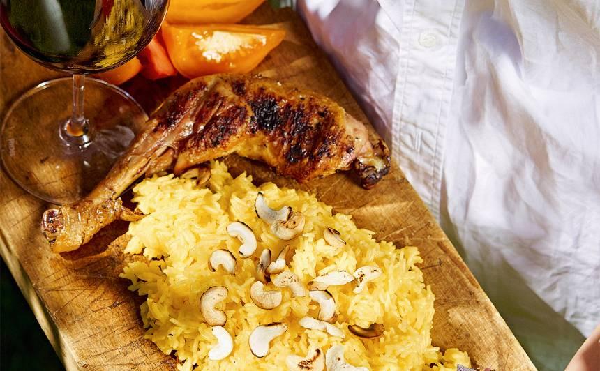 Safrāna rīsi recepte