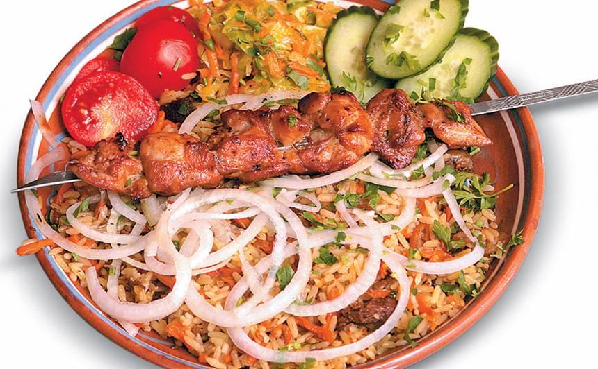 Ātrais vistas gaļas šašliks recepte