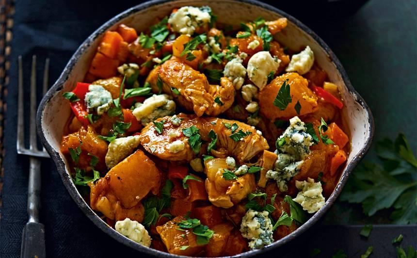 Tītara un dārzeņu čili recepte