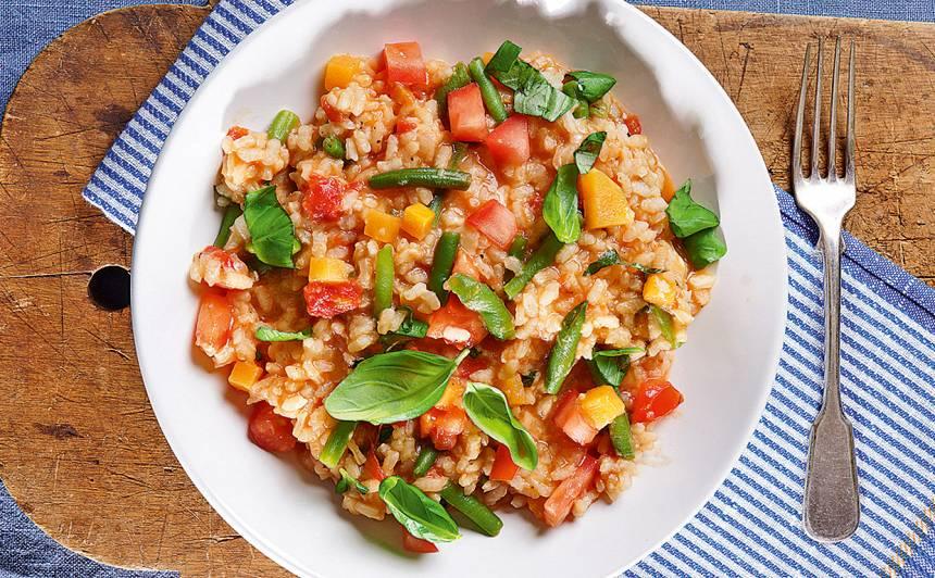 Risoto ar dārzeņiem recepte