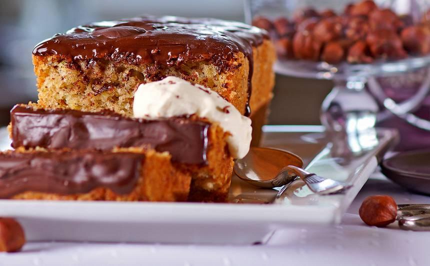 Cukīni kūka ar šokolādes glazūru