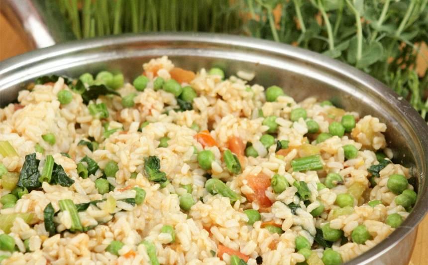 Otrās dienas rīsi recepte