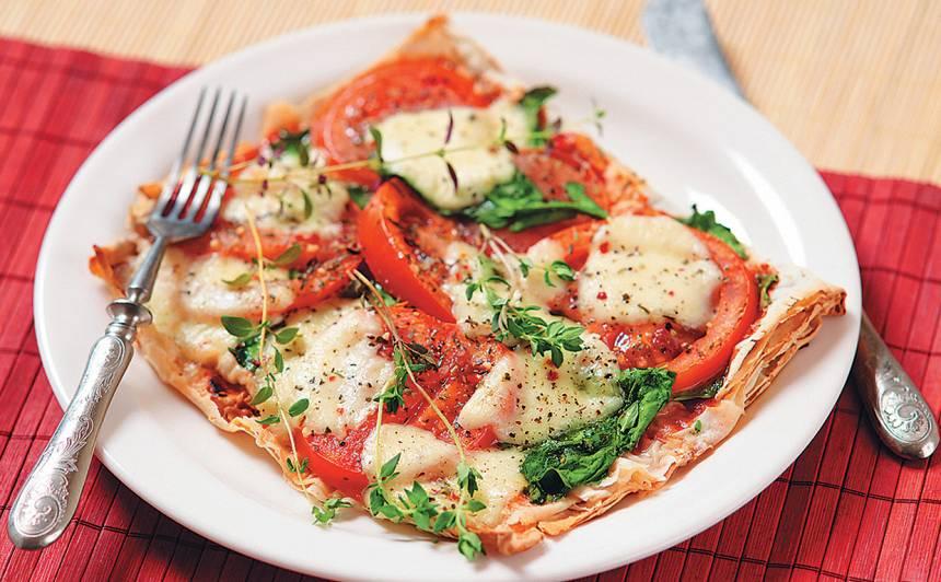 Veģetārā lavaša pica recepte