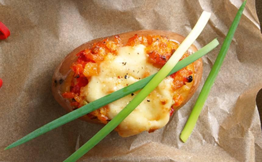 Krāsnī cepts  kartupelis ar dārzeņiem