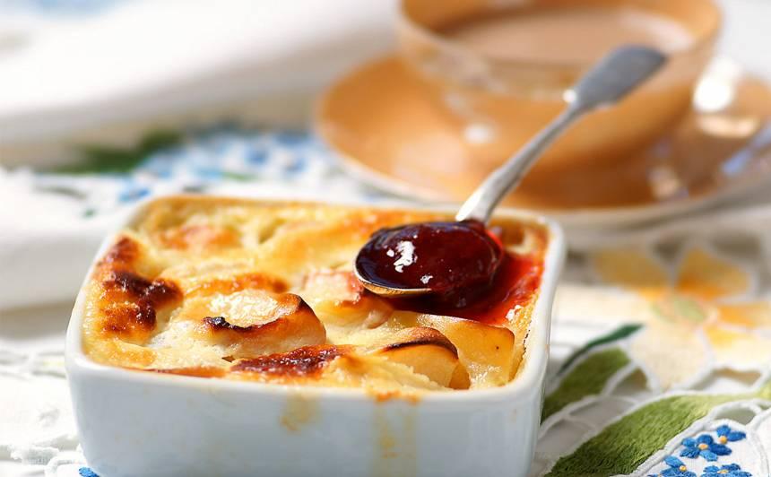 Vienkāršais ābolu deserts recepte