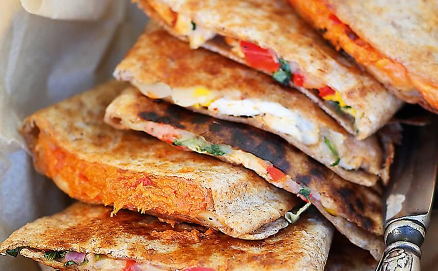 Meksikāņu kesadijas ar vistu recepte