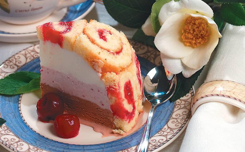 Saldējuma kūka receptes
