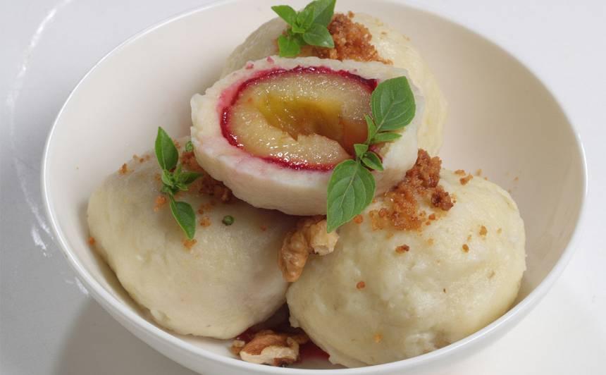 Kartupeļu un plūmju knēdeļi recepte